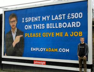 Ádám munkát keres
