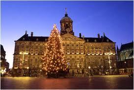 Karácsonyi fények amszterdam
