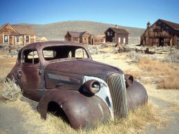 Time Goes By, Bodie Ghost Town, California