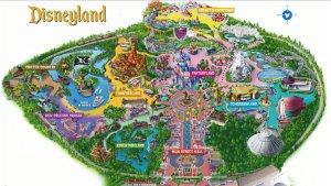 0011-Disney-Land-California-map