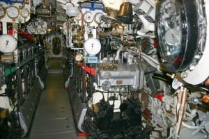 a tengeralattjáró belseje (részlet)